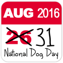 National Dog Day shifts to August 31 next year