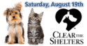 Clear The Shelters – Adoption Fees Waived on Saturday