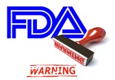 Warning from the FDA